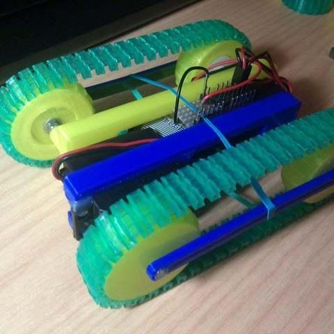 Download free 3D printer designs Printable caterpillar track, Aralala