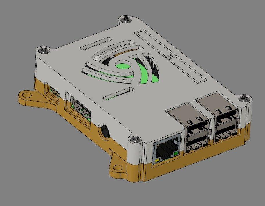 Standard_75mm-VESA_display_large.jpg Télécharger fichier STL gratuit Coffret Framboise Pi 3 (B/B+), Pi 2 B et Pi 1 B+ avec supports VESA et plus. • Objet imprimable en 3D, Aralala