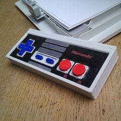 Download free STL file Printable NES controller, Aralala