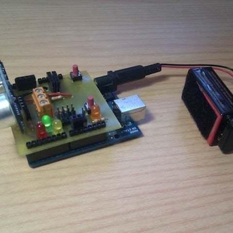 Printshield_funcionando_display_large_display_large.jpg Download free STL file Printshield v1.0 for Arduino printbots [Git repo] • 3D printer template, Aralala