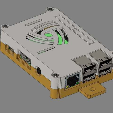 8020-mount_display_large.jpg Download free STL file Raspberry Pi 3 (B/B+), Pi 2 B, and Pi 1 B+ case with VESA mounts and more • 3D printable model, Aralala