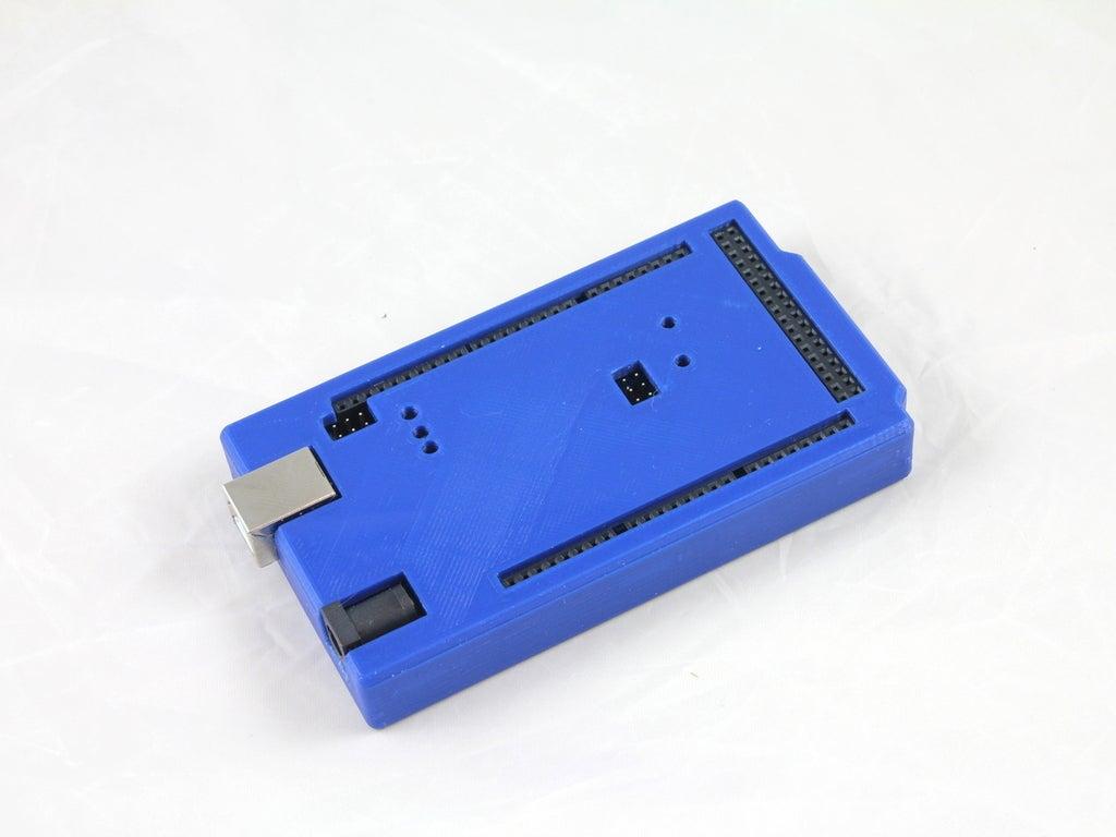 WHITE_RESIZE_IMG_2553_display_large.JPG Download free STL file Arduino Mega 2560 Snug Case • 3D printer design, Aralala