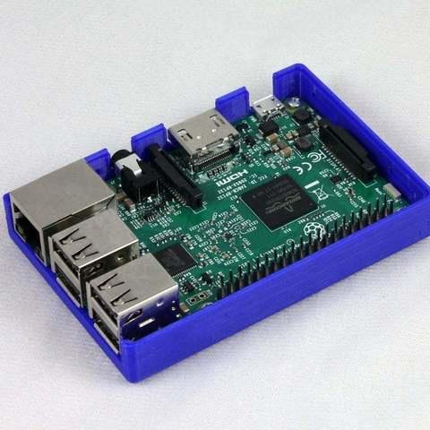 0cba1550286b249f97587738a0bd7bcc_display_large.JPG Download free STL file Raspberry Pi Snug Case • 3D printable design, Aralala