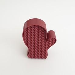 1.jpg Télécharger fichier STL Moule à gants pour biscuits avec motif de tricot • Plan imprimable en 3D, cagriahiskali