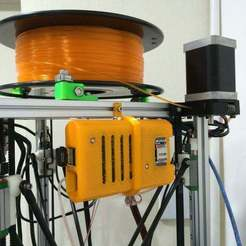 Download free STL Raspberry Pi Case and Mount for Kossel, Lassaalk