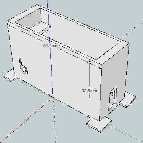 ConServoTM_skf_display_large.jpg Download free STL file badBrick - Parallax Continuous Rotation Servo Brick Top Mount. • 3D printing object, Lassaalk
