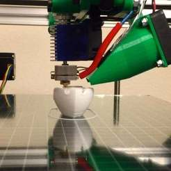 Download free 3D printer files Regulable fan duct version 2, Lassaalk