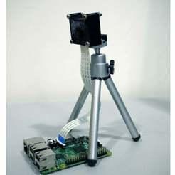 Download free 3D printing models Raspberry Pi Camera NoIR v1.3 Case and Mount, Lassaalk