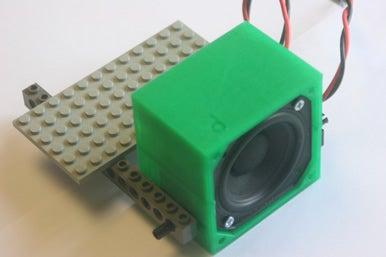 """bbVFR2iSB_mnt_display_large.jpg Download free STL file badBrick - Speaker Case for Vifa TC6FD00-04 2"""" Woofer • 3D printable template, Lassaalk"""