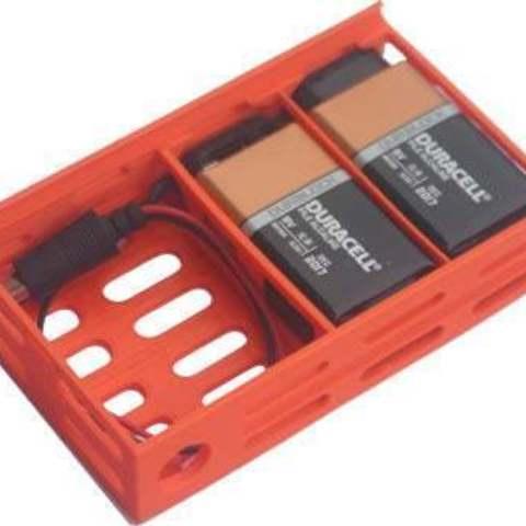 Télécharger fichier STL gratuit badBrick - Power Brick - (2) 9 Volt Battery Case. • Plan imprimable en 3D, Lassaalk