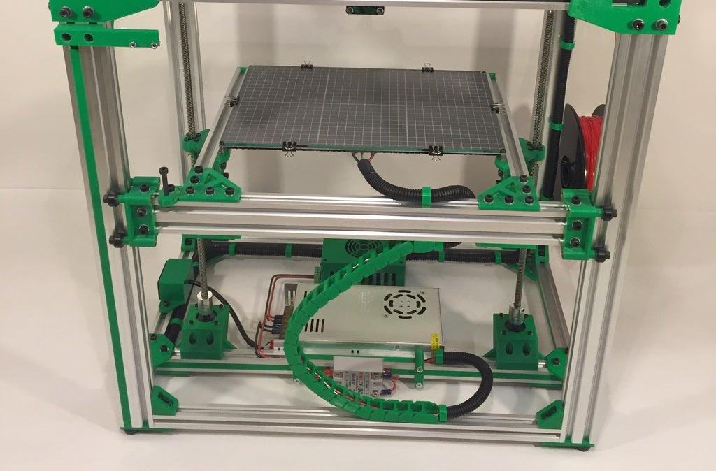 b5449311e57e3f63d8c236d5515b27bb_display_large.JPG Télécharger fichier STL gratuit Chaîne de câble pour rail de 20mm • Design à imprimer en 3D, Lassaalk