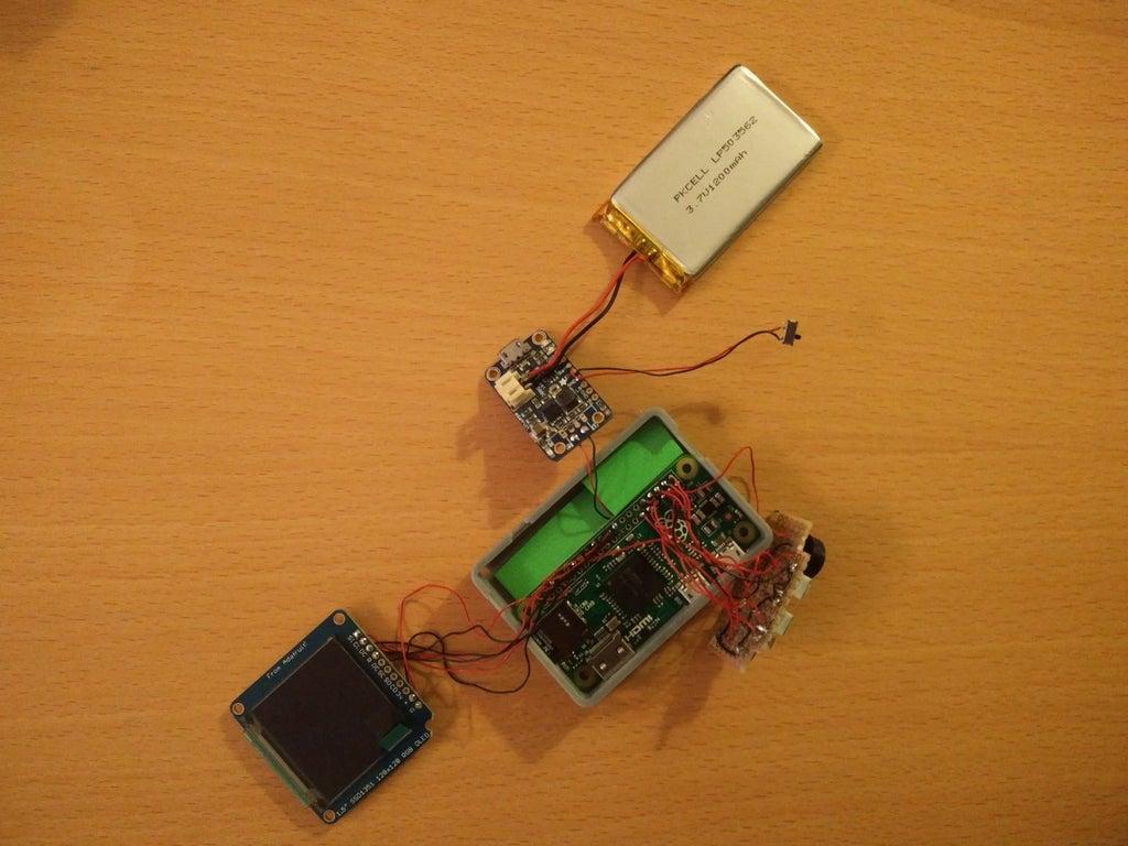 26cc3a8e432d98df407dd33469ca41ee_display_large.jpg Télécharger fichier STL gratuit Pi Zero - Gameboy NANO • Design imprimable en 3D, Lassaalk