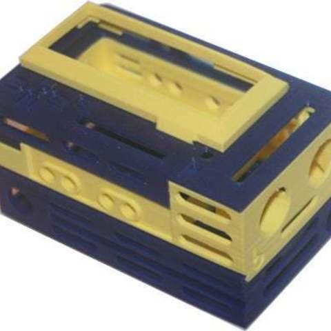 bbEchoBox_shl_display_large.jpg Télécharger fichier STL gratuit L'Echo Box est un kit complet. Amusant pour apprendre à coder. • Modèle imprimable en 3D, Lassaalk