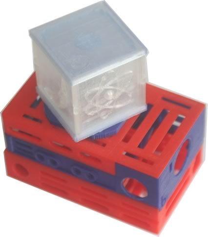 bbNightLight_display_large.jpg Télécharger fichier STL gratuit badBrick - Lumière nocturne à détection de mouvement, kit complet de coque 3D. • Plan à imprimer en 3D, Lassaalk