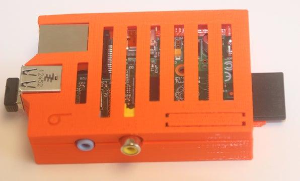 bbPiCase_display_large.jpg Download free STL file badBrick - Case for Raspberry Pi. • 3D printable model, Lassaalk