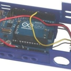 Download free 3D print files badBrick - bbBasePLXPIR, Parallax PIR (Rev B) sensor + Arduino UNO R3 Base Case., Lassaalk