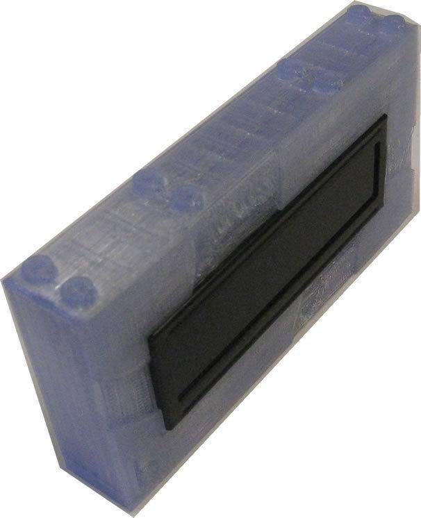bb5212LCD-16x2_display_large.jpg Télécharger fichier STL gratuit Monture en brique pour écran LCD 16x2. • Objet pour imprimante 3D, Lassaalk