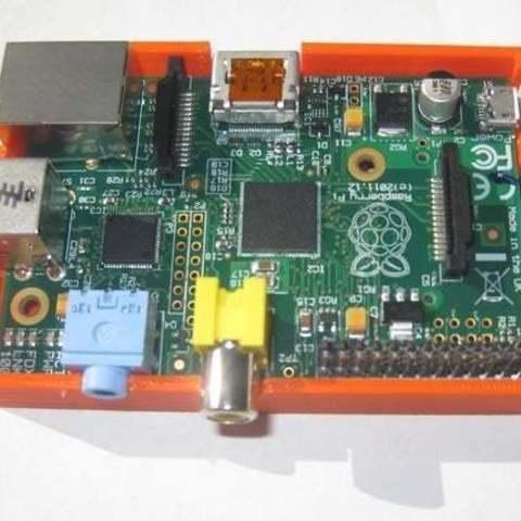 bbPi_CaseBase_wpi_display_large.jpg Download free STL file badBrick - Case for Raspberry Pi. • 3D printable model, Lassaalk