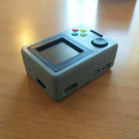 28eeb3a8c661d28150d908564bba9597_display_large.jpg Download free STL file Pi Zero - Gameboy NANO • 3D printing model, Lassaalk