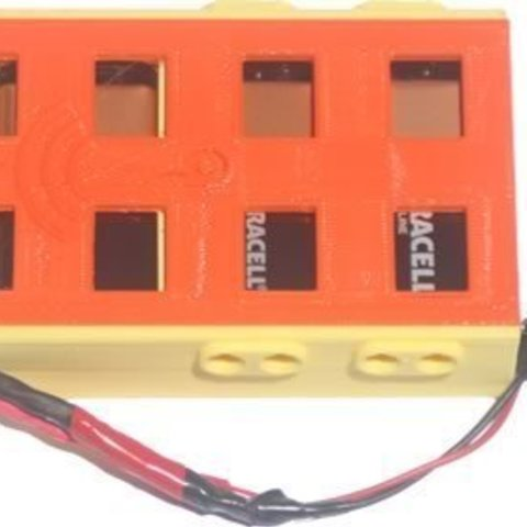 bb39vBPack_top_display_large.jpg Download free STL file badBrick - (3) 9 Volt Battery Case and top for Arduino UNO R3. • 3D printing template, Lassaalk