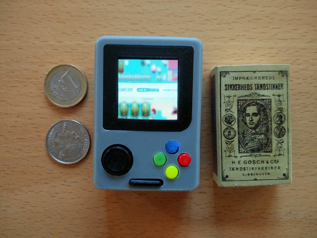 42004569f89b972b0dea27e91370346e_display_large.jpg Download free STL file Pi Zero - Gameboy NANO • 3D printing model, Lassaalk