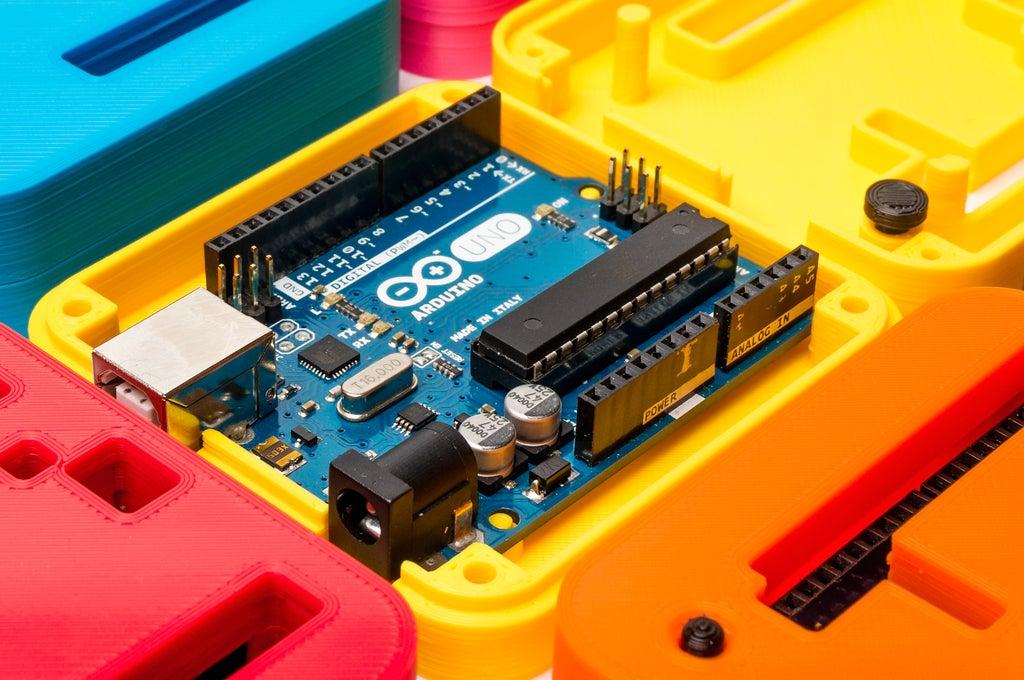 _DSC2857_display_large.jpg Download free STL file 3D Printed Case for Arduino Uno, Leonardo. • 3D printing model, Lassaalk