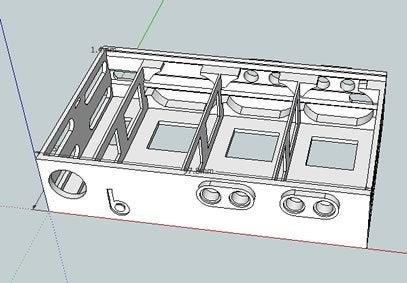 bb39vBPack_skb_display_large.jpg Download free STL file badBrick - (3) 9 Volt Battery Case and top for Arduino UNO R3. • 3D printing template, Lassaalk