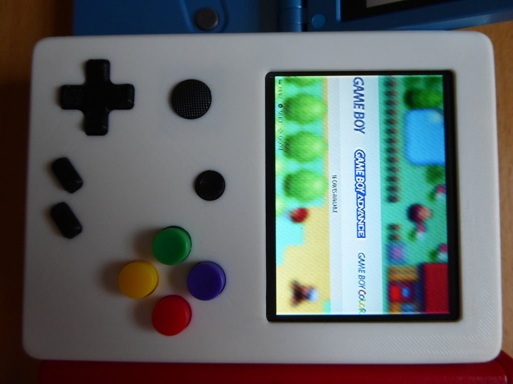 P1010996_display_large.JPG Download free STL file Portable Raspberry Pi game console • 3D printing object, Lassaalk