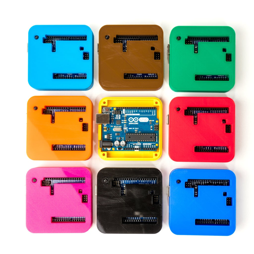 _DSC2869_display_large.jpg Download free STL file 3D Printed Case for Arduino Uno, Leonardo. • 3D printing model, Lassaalk