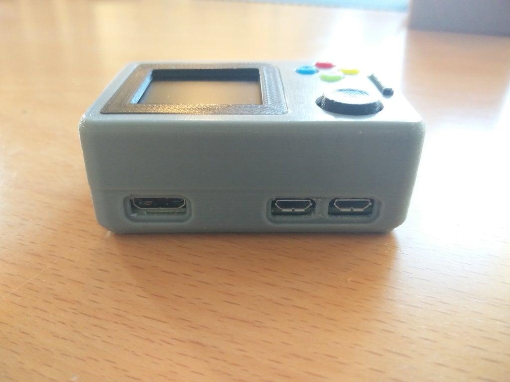 e6242c7ba198165bc2466463e2742944_display_large.jpg Télécharger fichier STL gratuit Pi Zero - Gameboy NANO • Design imprimable en 3D, Lassaalk