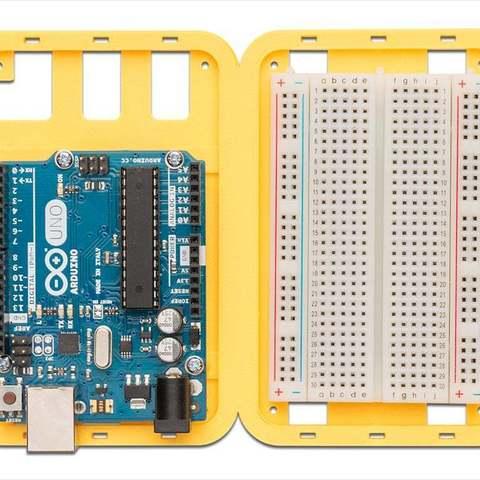yellow_uno-brdbd-com_display_large.jpg Download free STL file Modular Support (Case) for Arduino and Raspberry Pi - CustoBlocks • 3D print template, Lassaalk