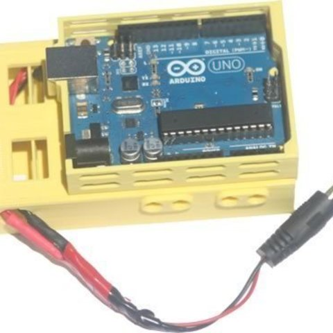 bb39vBPack_ard_display_large.jpg Download free STL file badBrick - (3) 9 Volt Battery Case and top for Arduino UNO R3. • 3D printing template, Lassaalk