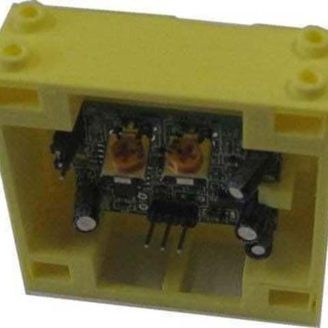 Télécharger fichier STL gratuit Capteur PIR Montage en brique • Design pour imprimante 3D, Lassaalk