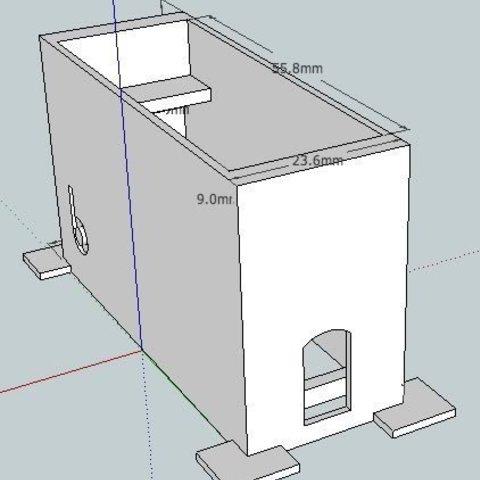 SG5010TM_skf_display_large.jpg Download free STL file badBrick - Tower Pro SG5010 Servo Brick Top Mount • Design to 3D print, Lassaalk