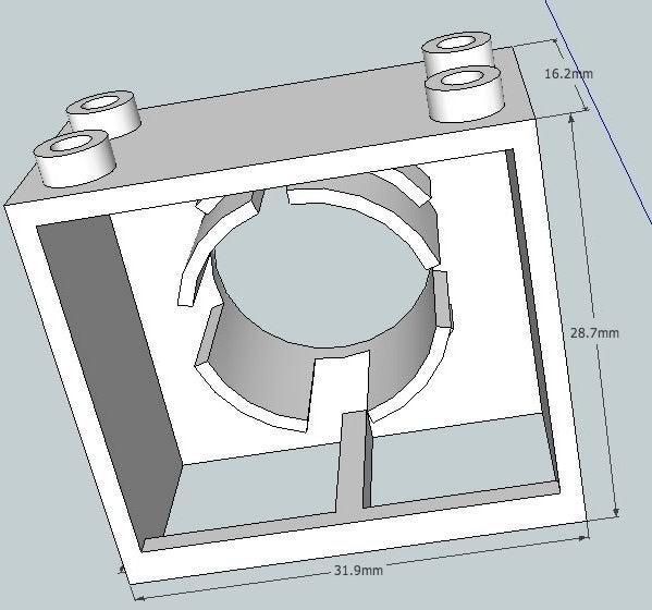 bb324US_Sk_display_large.jpg Télécharger fichier STL gratuit Capteur à ultrasons Montage en brique • Plan pour impression 3D, Lassaalk