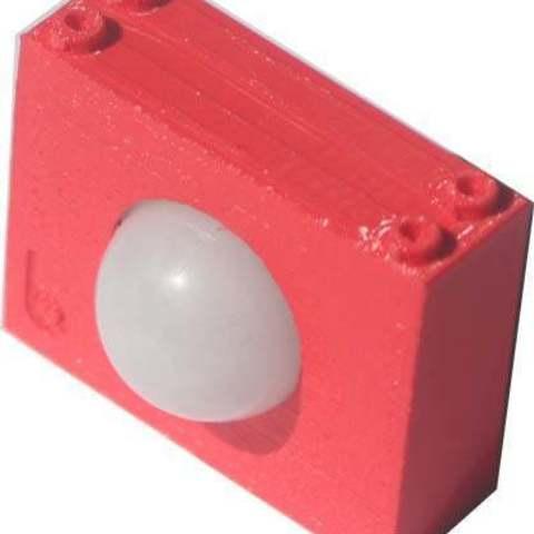 Télécharger fichier STL gratuit BadBrick PIR Sensor Brick Mount. • Modèle à imprimer en 3D, Lassaalk