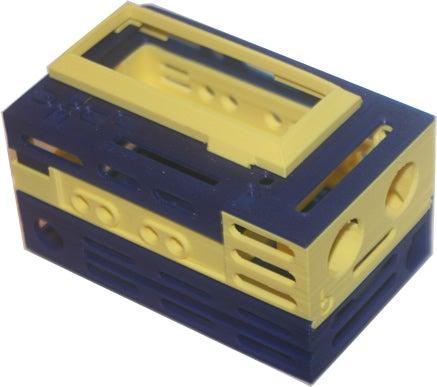 bbEchoBox_shl_display_large.jpg Télécharger fichier STL gratuit badBrick - Boîte à échos, support de base et dessus. • Modèle pour imprimante 3D, Lassaalk