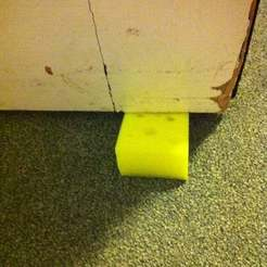 Download free 3D printer designs Cheesy door stop, Lassaalk