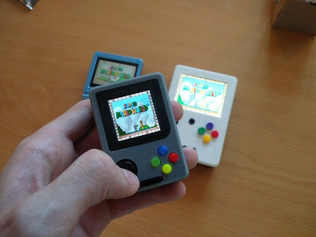 f28d927b6e16dfbfe34b9015f19bb5f0_display_large.jpg Télécharger fichier STL gratuit Pi Zero - Gameboy NANO • Design imprimable en 3D, Lassaalk
