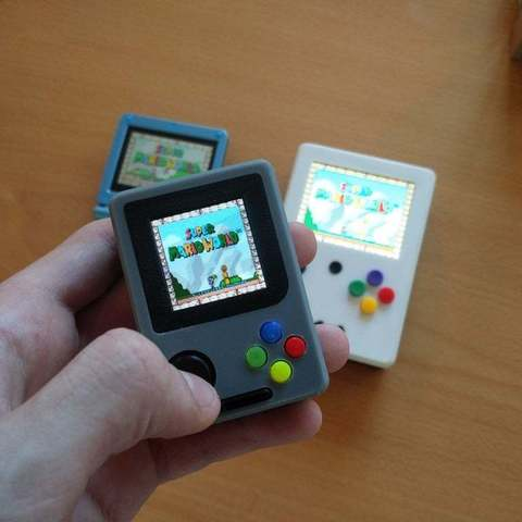 f28d927b6e16dfbfe34b9015f19bb5f0_display_large.jpg Download free STL file Pi Zero - Gameboy NANO • 3D printing model, Lassaalk