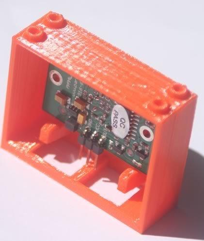 bb624PIRPLX_mtb_display_large.jpg Télécharger fichier STL gratuit badBrick bb624PIRPLX Parallax PIR Sensor Brick Mount. • Design à imprimer en 3D, Lassaalk