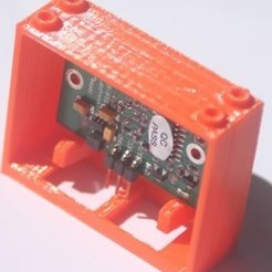 Download free STL files badBrick bb624PIRPLX Parallax PIR Sensor Brick Mount., Lassaalk