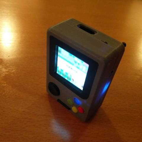 ce2d1b7a952c969e07999282d0941b7d_display_large.jpg Download free STL file Pi Zero - Gameboy NANO • 3D printing model, Lassaalk