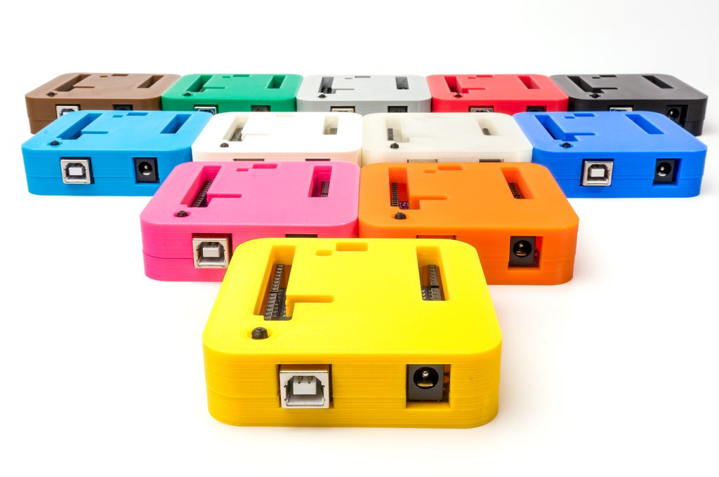 _DSC2915_display_large.jpg Download free STL file 3D Printed Case for Arduino Uno, Leonardo. • 3D printing model, Lassaalk