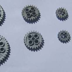 bb408GearSet_display_large.jpg Download free STL file Common Gear set • 3D printer object, Lassaalk