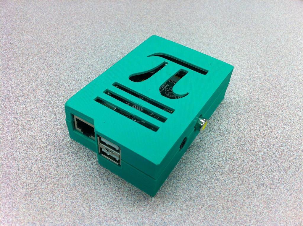tZGDUQx_display_large.jpg Download free STL file Raspberry Pi Case - Pi Symbol • Object to 3D print, Lassaalk