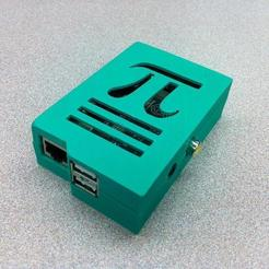 Download free STL file Raspberry Pi Case - Pi Symbol, Lassaalk