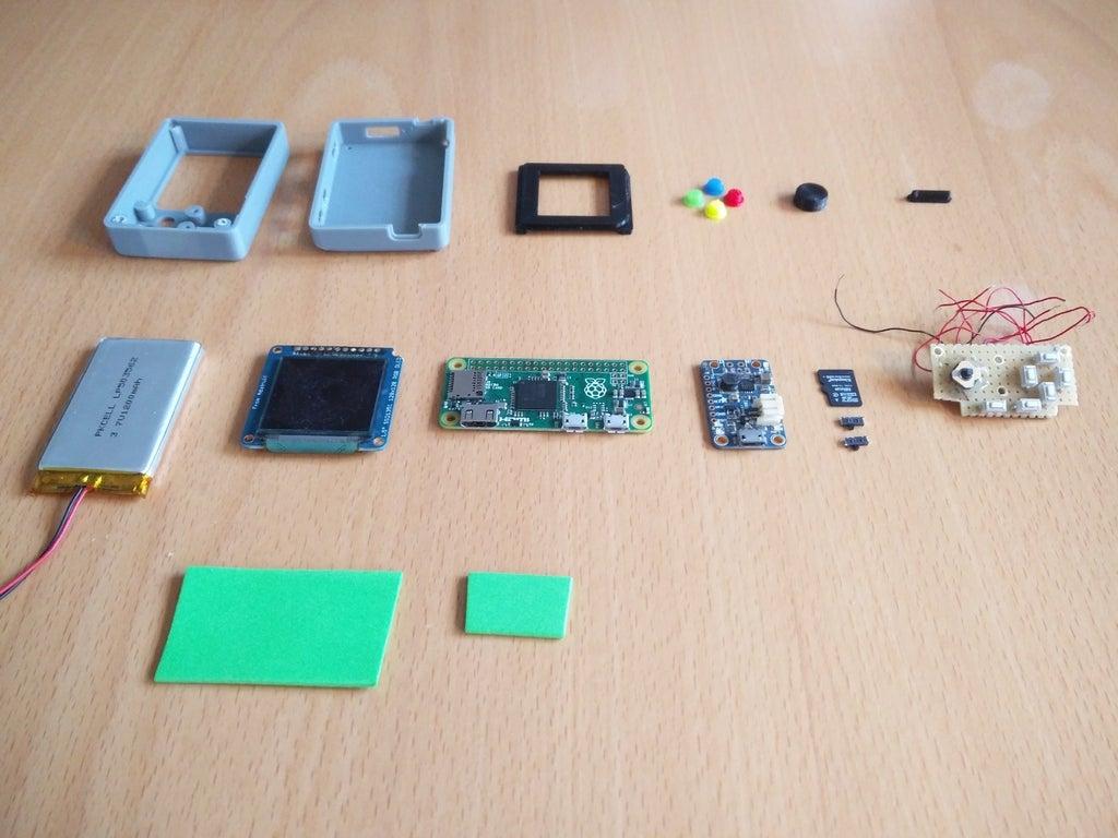 a558f66d2cf1fa8094eac66df6de3a40_display_large.jpg Télécharger fichier STL gratuit Pi Zero - Gameboy NANO • Design imprimable en 3D, Lassaalk