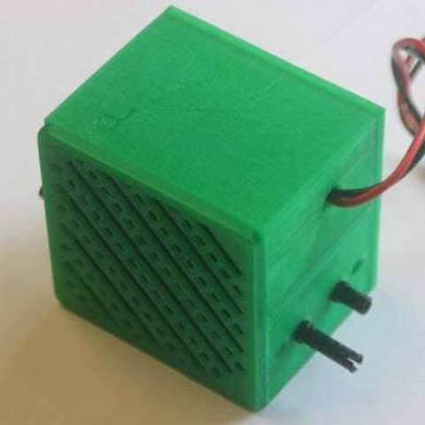 "bbVFR2iSB_display_large.jpg Download free STL file badBrick - Speaker Case for Vifa TC6FD00-04 2"" Woofer • 3D printable template, Lassaalk"