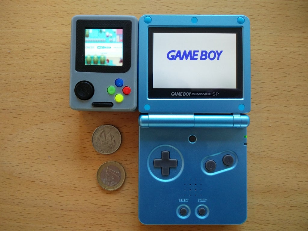 31dfb4fc5b9cd26f0e5e3a96832f2a4c_display_large.jpg Download free STL file Pi Zero - Gameboy NANO • 3D printing model, Lassaalk